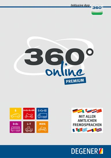 360° Online Premium Lernsoftware